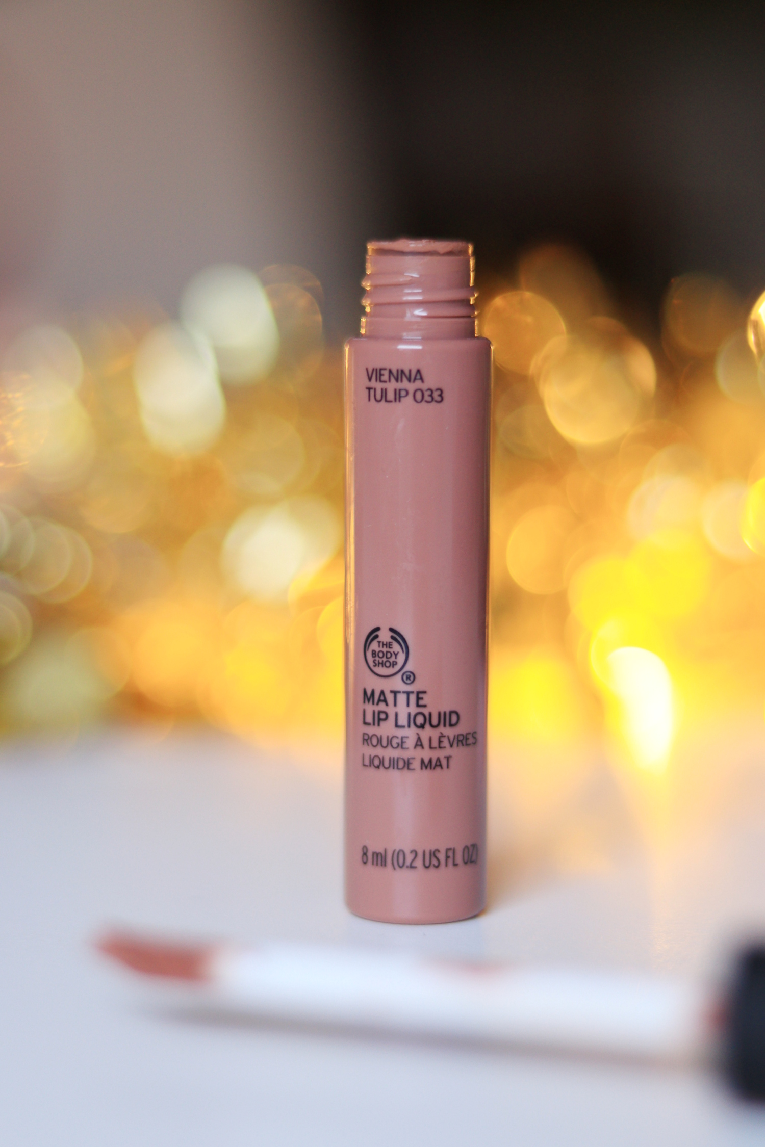The Body Shop Matte Lip Liquid VIenna Rose